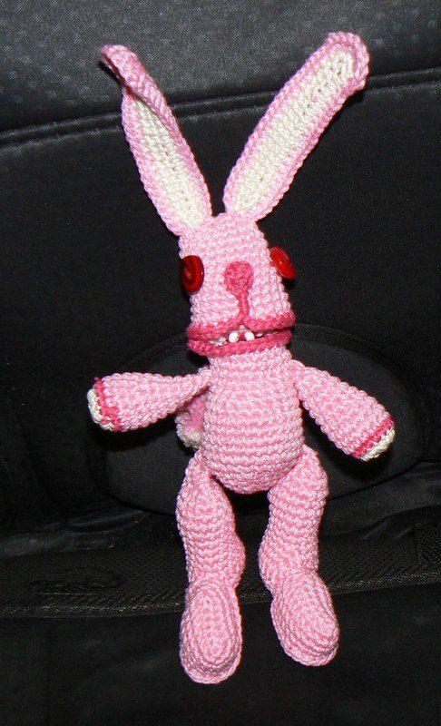 розовый кролик Марики Становой